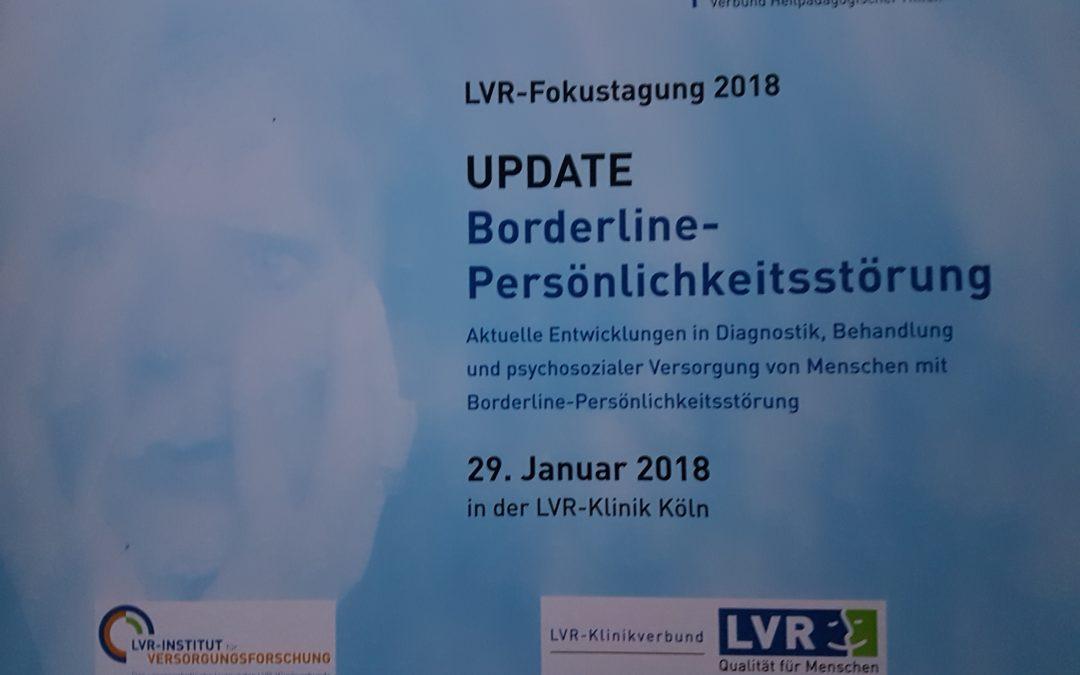 UPDATE Borderline Persönlickeitsstörung Fokustagung am 29.01.2018 in Köln